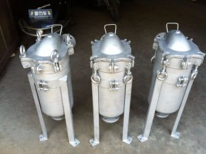 Acero inoxidable purificador de agua personalizada Bolsa de fundición de la caja del filtro
