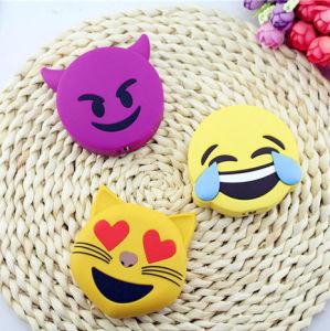 La sonrisa de PVC de dibujos animados grito cara Unicorn Emoji Li-ion Banco Batería 2600mAh
