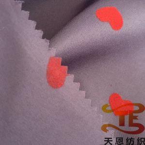 100% de poliéster plena Dull Pongées decalcomania para vestuário de malha