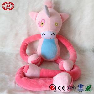 Brinquedo cor-de-rosa do luxuoso do rei Macaco Stretchkins Miúdo Amor