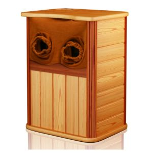 Hermosa madera de cedro pie Sauna (Winchester ZK001)