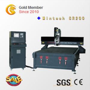 Máquina fresadora CNC de trabalho da madeira China máquina de esculpir CNC