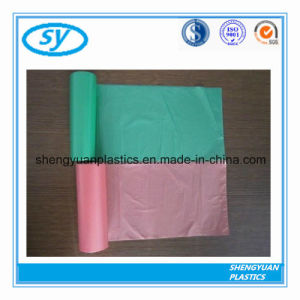 De nouveaux produits Nouveau style de sac à ordures en plastique plat