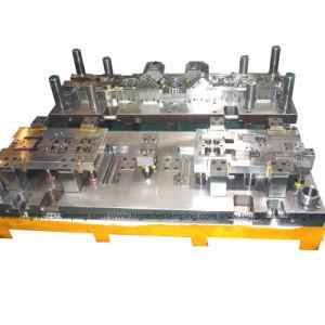 Estampación pulsando progresivo Tool (DRH-C9).