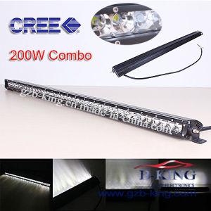 Enige Row CREE LED Light Bar met 3D Reflectors