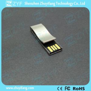 2017 новый дизайн металлический держатель USB Flash накопитель с логотипом (ZYF1758)