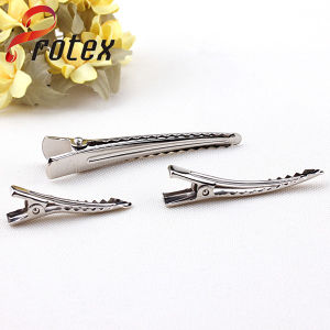Fabbrica Supplier Metal Frensh Barrettes per DIY Hair Accessories, Crocodile Clip