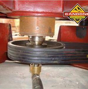 Concentratore continuo della centrifuga dell'oro del sistema di scarico