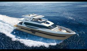 Морскому праву Stella 95FT роскошные яхты электродвигателя