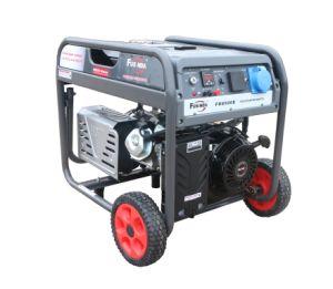 7000W小さい携帯用世帯の発電機ガソリン発電機