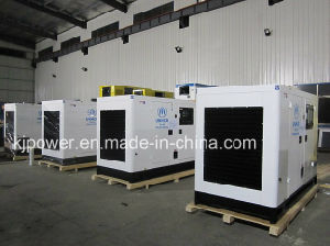 50Hz 125kVA 상표 Yuchai 중국 엔진에 의해 강화되는 디젤 엔진 발전기 세트