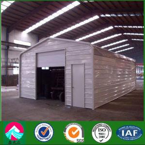 Galpón de acero prefabricados de estructura metálica para garajes