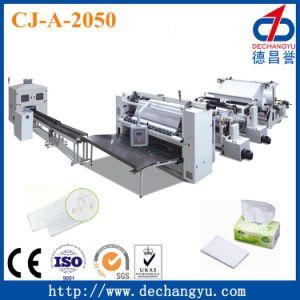 La certificación CE papel facial/ Línea de Producción de tejidos