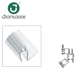 Faixa de vedação impermeável de PVC para chuveiro porta de vidro