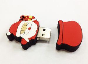 1ГБ-16ГБ отца Рождество флэш-диска USB Mini USB-накопителя