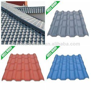 ガイアナ住宅のHouseing反紫外線PVC屋根瓦