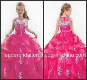 Vestito fucsia Fl2152 dalla ragazza di fiore dell abito di sfera di  spettacolo della ragazza dei cristalli 895997db639