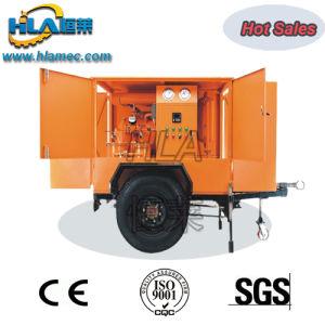Tipo de Móviles de Filtración de aceite del transformador de vacío máquina