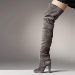 La cuisse de hautes bottes pour femmes (l'Hcy02-088)