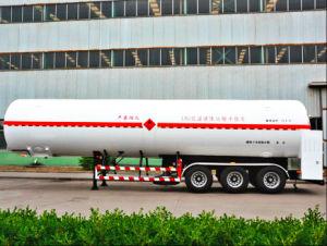 최신 판매! 40-60 Cbm 액화천연가스 CNG 탱크 트레일러