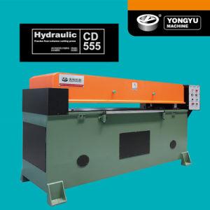 CD555 серии точных Four-Columns гидравлической системы машины для резки из натуральной кожи