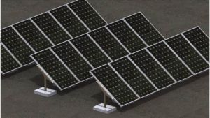 Solardrosselfox-Montage-System (PV-Solarmontage-System, Solarmontage-Installationssatz, Aluminiumschiene)