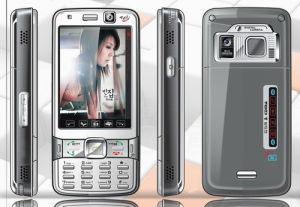Telefone TV modelo duplo com três cartões SIM (DL-689)