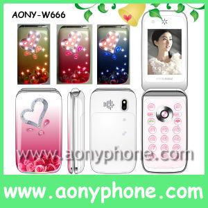 W666 Televisão Telefone Celular