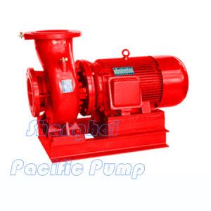 Inline-Feuer-Pumpe (XBD-TPW), horizontale Inline-Feuer-Pumpe, Jockey-Pumpe, Schleuderpumpe, verteilendes Wasser-Pumpe, Isw Rohrleitung-Schleuderpumpe