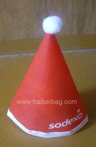 De niet-geweven Hoed van Kerstmis (hbch-005)