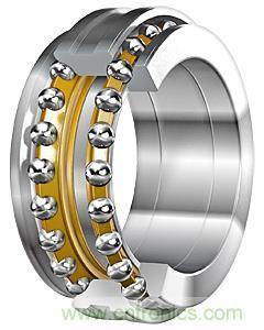Bolas de contacto angular de doble fila de anillo de rotación