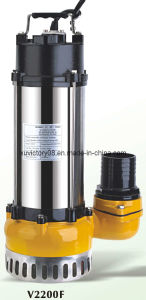 Литой корпус из нержавеющей стали на полупогружном судне сточных вод насосы V2200f (WQ30-11-2.2)