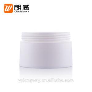 ねじ帽子の装飾的なクリーム色の瓶が付いている120gプラスチッククリーム色の瓶