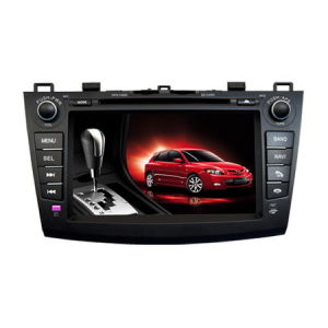 2 DIN 7 Inch LCD Indash Car DVD for Mazda 3 With GPS, Radio, SD, MP4