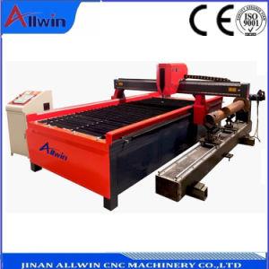China Plamsa CNC Máquina de cortar el tubo de acero inoxidable