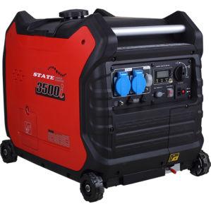 3000W numérique générateur à essence à fréquence variable définie