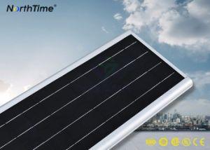 Einteilige im Freien integrierte LED-Solarstraßenlaterne für Garten-Licht