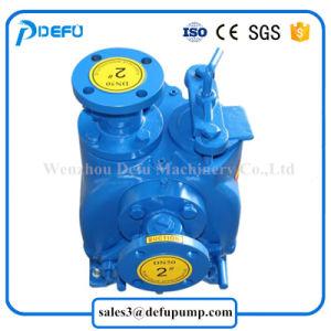 Das 2 Zoll-Abwasser-Behandlung pumpt Selbstgrundieren-Wasser-Pumpe mit Elektromotor