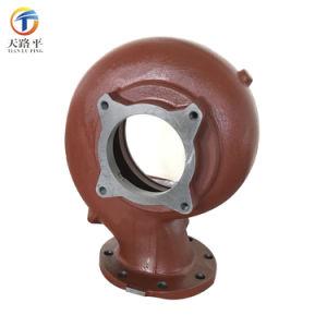 中国の鋳物場の習慣は延性がある鉄が付いているポンプ・ボディを砂型で作る