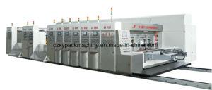Flexo de corte automático de cartón Impresora engranan el embalaje de cartón ondulado embalaje la máquina