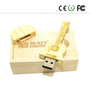 Деревянные гитара флэш-накопитель USB 2.0 Привод пера