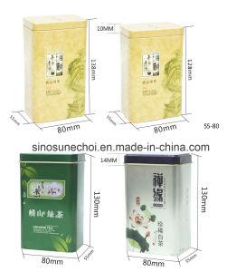 Petite boîte en métal personnalisée Boîte pour le thé de l'emballage
