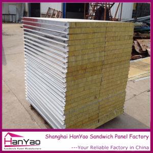 Construction de la laine de roche ignifugé Mateial panneau sandwich isolant des panneaux sandwich de laine de roche