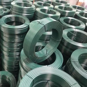 Collegare rivestito di plastica del legame del vario di colori collegare rivestito del PVC