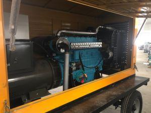125kVA 트레일러 디젤 엔진 발전기 세트
