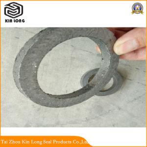 Anneau de garniture de graphite flexible utilisé pour sceller l'eau chaude, la vapeur surchauffée, transfert de chaleur liquide, solution d'ammoniac, d'Hydrocarbure liquide à basse température