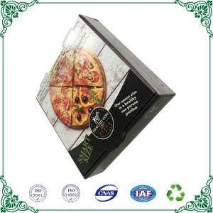 La impresión multicolor Papel Kraft caja de pizza de Cartón Ondulado