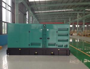 Haut de la vente d'usine Cummins 260kw/325kVA Groupe électrogène Diesel silencieux (NTA855-G1B) (GDC325*S)