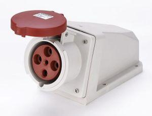 63A 3P+PE IP44 douille de montage en surface (MN6411)