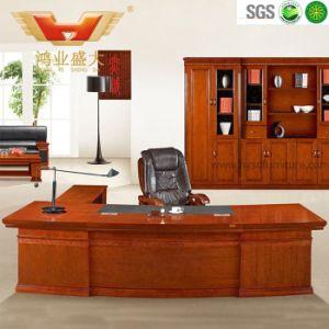 La clásica de la Oficina Ejecutiva de la madera de teca muebles mesa de oficina (HY-D1132)